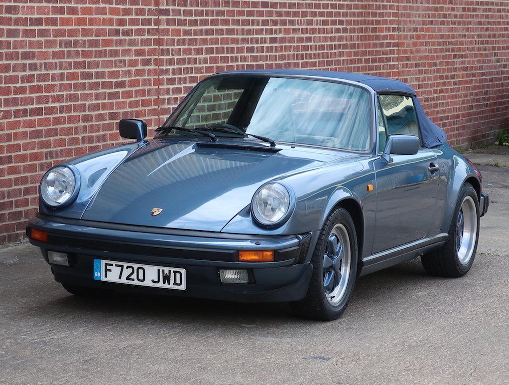 1989 Porsche 911 3.2 Carrera Cabriolet For Sale (picture 6 of 6)