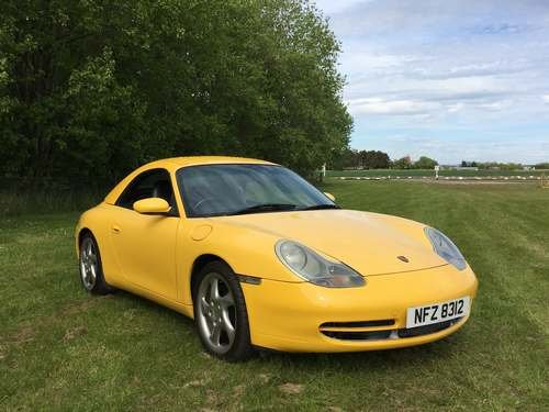 1999 Porsche 911 Carrera 4 at Morris Leslie Auction 25th May SOLD by Auction (picture 1 of 6)