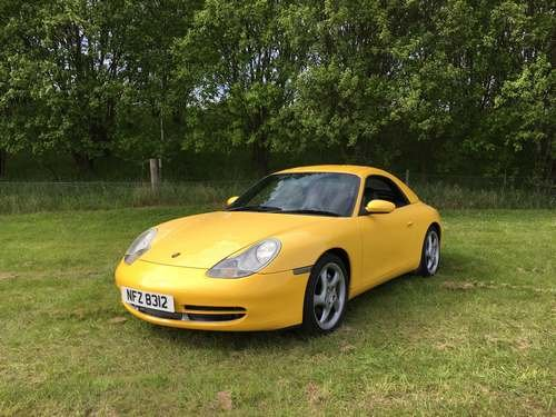 1999 Porsche 911 Carrera 4 at Morris Leslie Auction 25th May SOLD by Auction (picture 2 of 6)