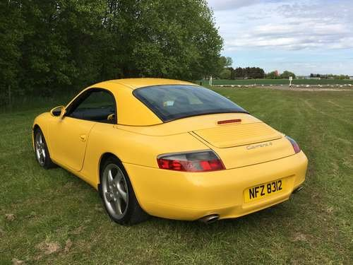1999 Porsche 911 Carrera 4 at Morris Leslie Auction 25th May SOLD by Auction (picture 3 of 6)