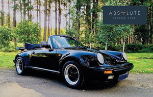 1988 Porsche 911 / 930 Turbo Cabriolet - Spectacular, Low Mileage For Sale