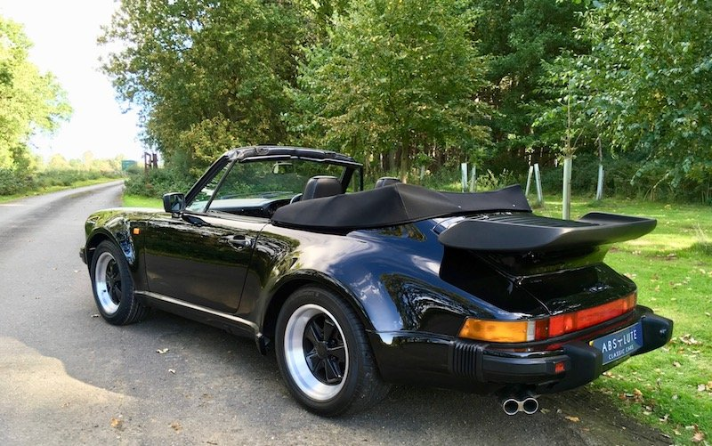 1988 Porsche 911 / 930 Turbo Cabriolet - Spectacular, Low Mileage For Sale (picture 2 of 6)