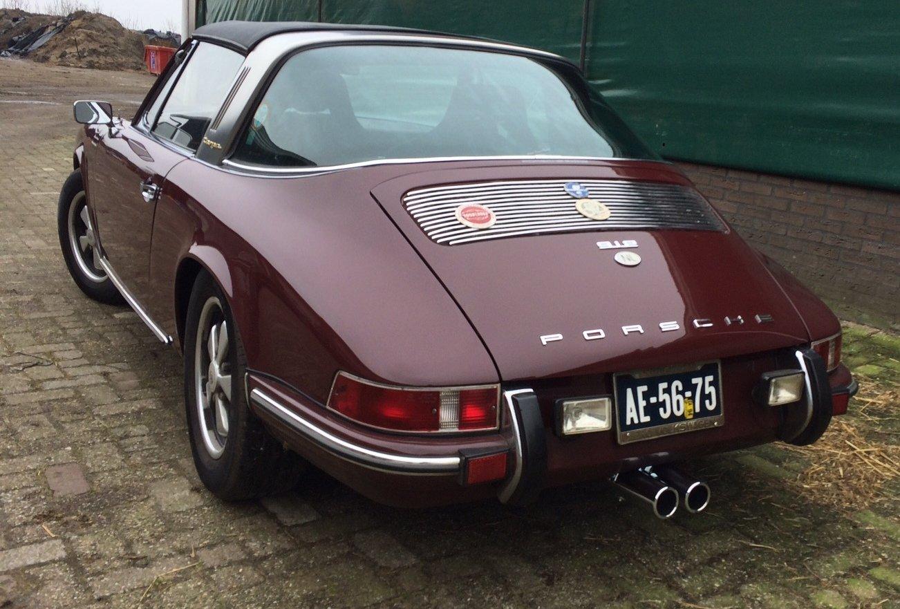 1969 PORSCHE TARGA 912 LWB For Sale (picture 3 of 6)