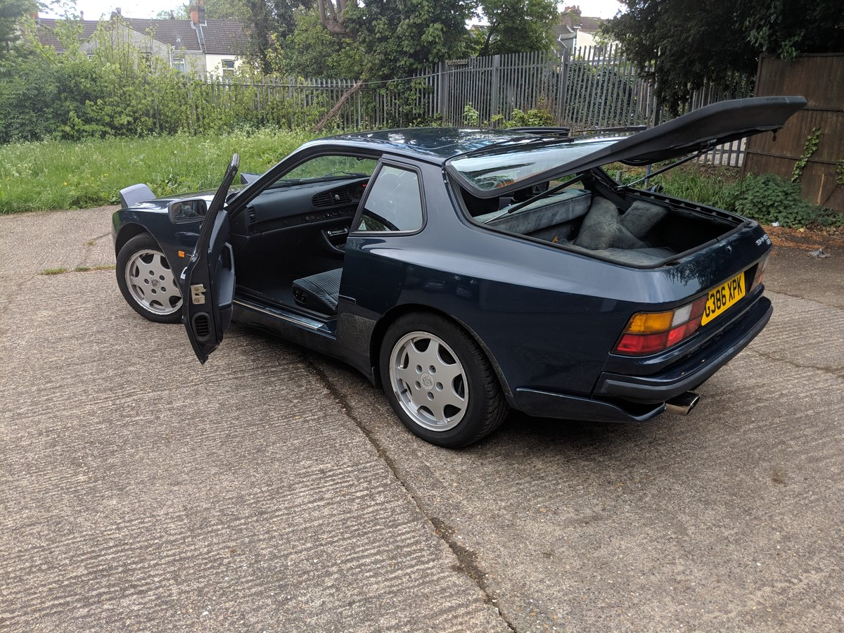 1990 Porsche 944s2 3.0 manual 105000 milage For Sale (picture 3 of 6)