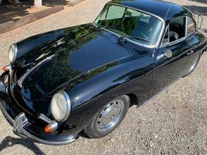 1965 Porsche 356 SC Coupe = All Black Rebuilt Motor $89.9k For Sale