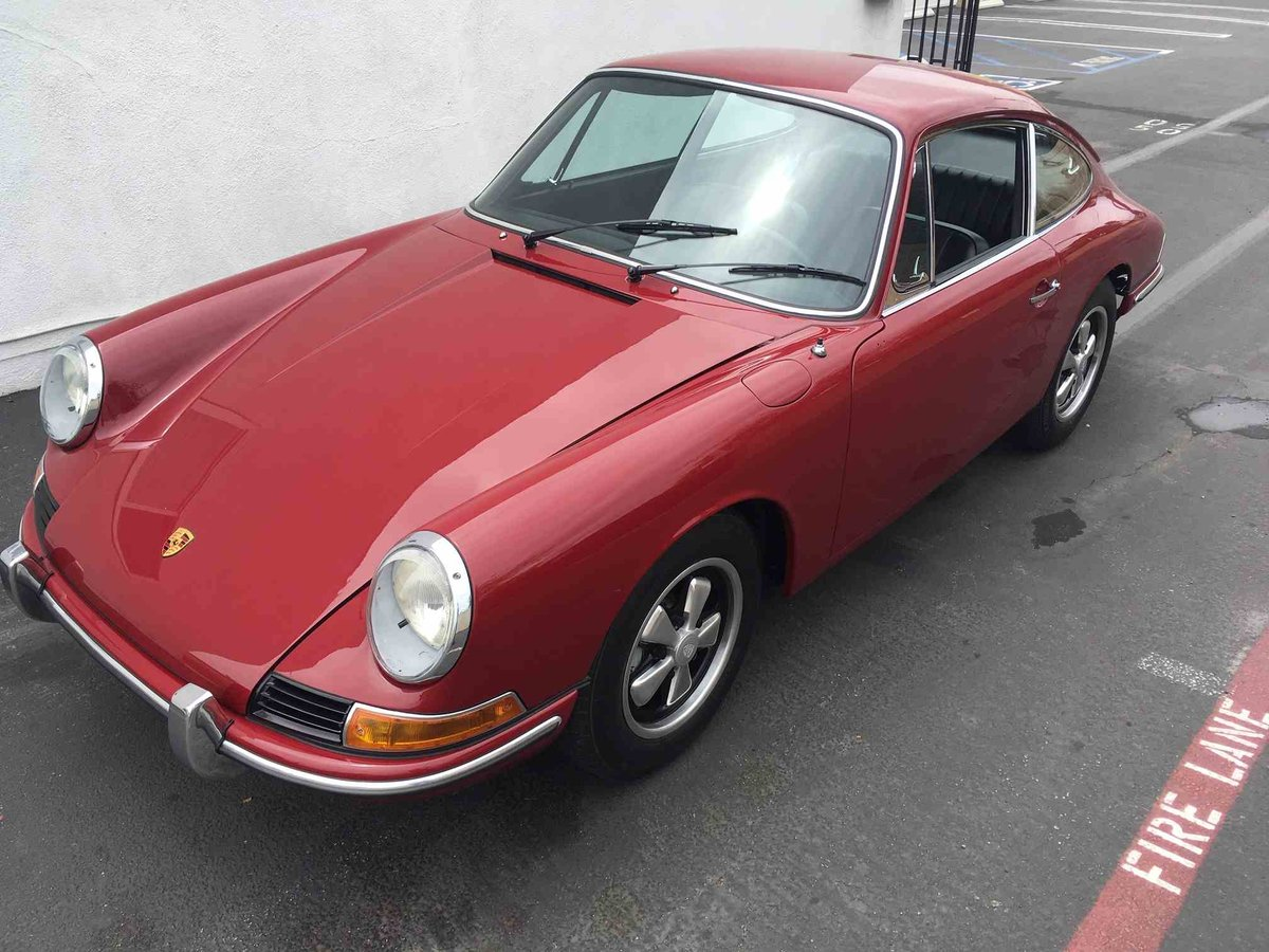 1967 Porsche 912 Coupe = Restored Red(~)Black Solid $75k For Sale (picture 1 of 6)