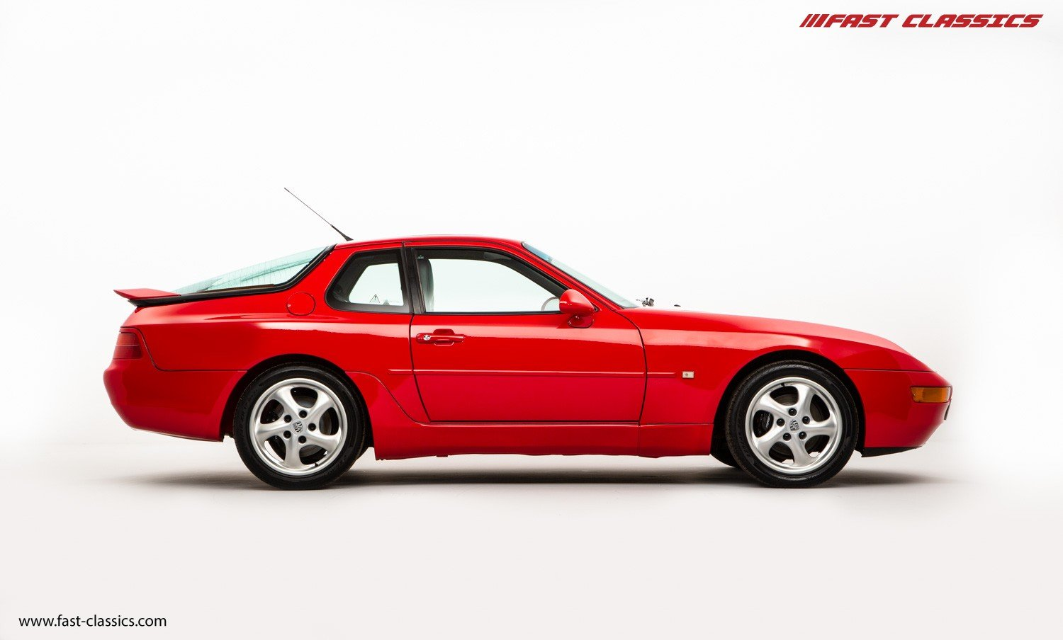 1993 PORSCHE 968 COUPE // GUARDS RED // MANUAL // UK SUPPLIED For Sale (picture 1 of 6)