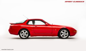 1993 PORSCHE 968 COUPE // GUARDS RED // MANUAL // UK SUPPLIED For Sale