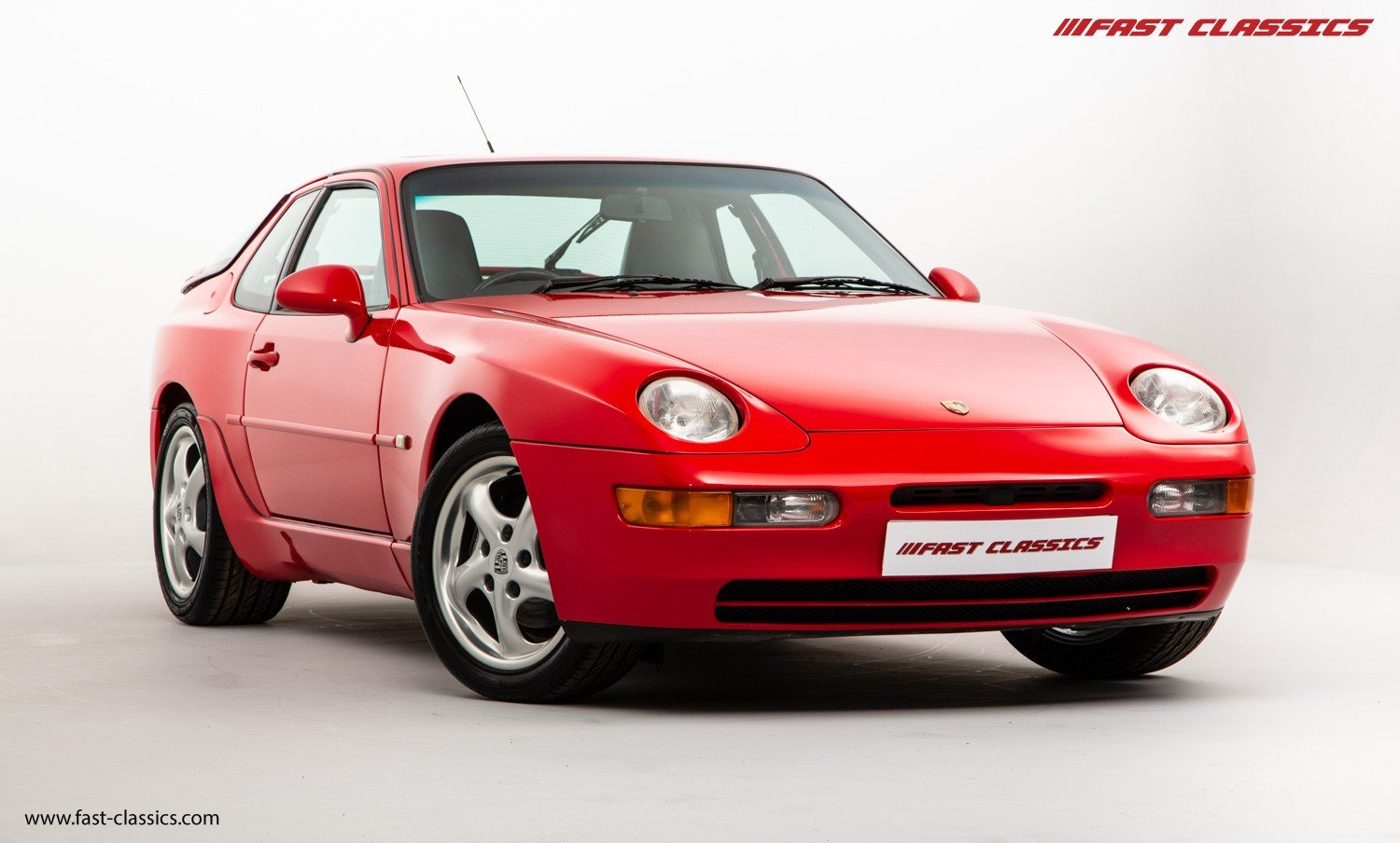 1993 PORSCHE 968 COUPE // GUARDS RED // MANUAL // UK SUPPLIED For Sale (picture 2 of 6)