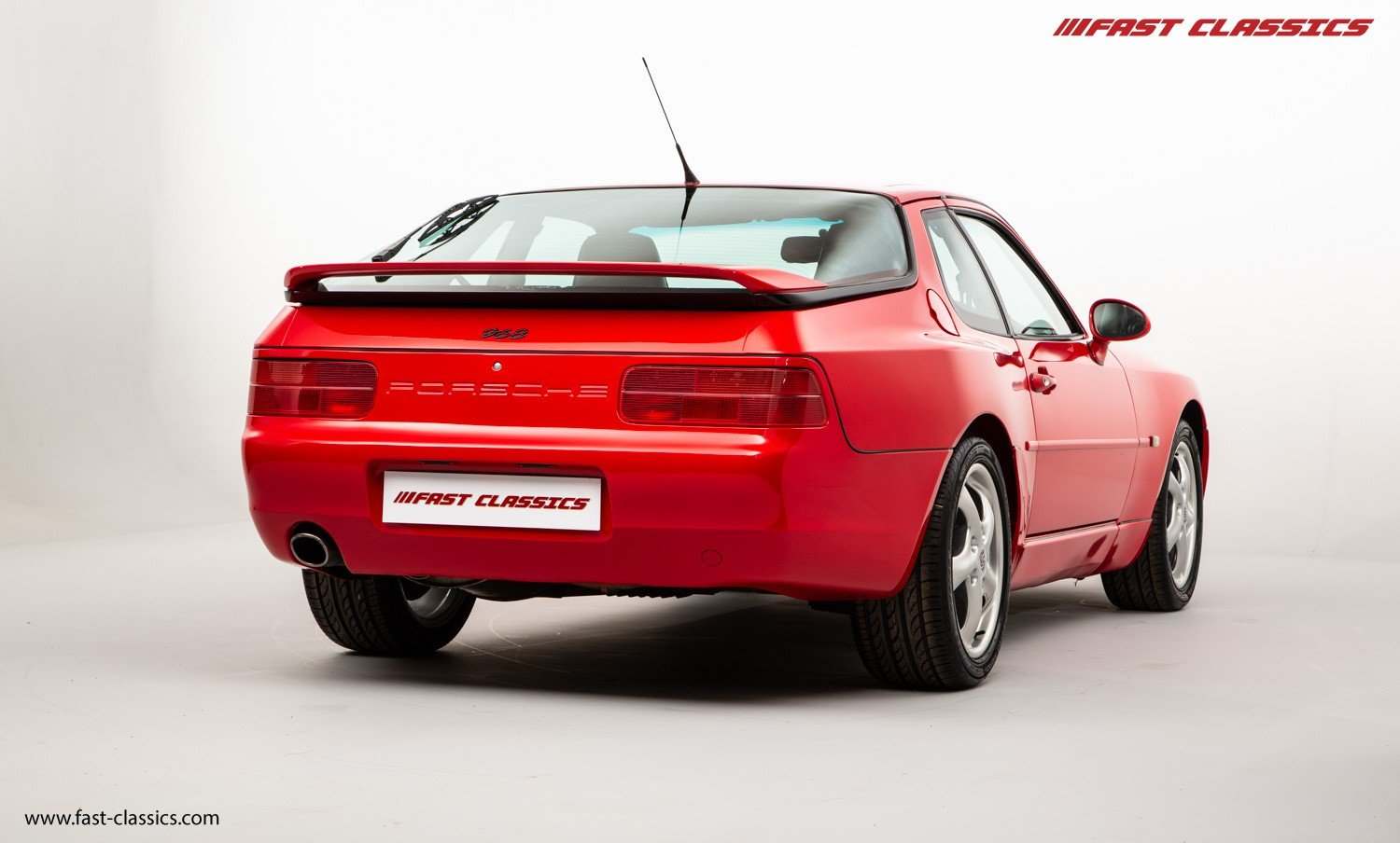 1993 PORSCHE 968 COUPE // GUARDS RED // MANUAL // UK SUPPLIED For Sale (picture 3 of 6)