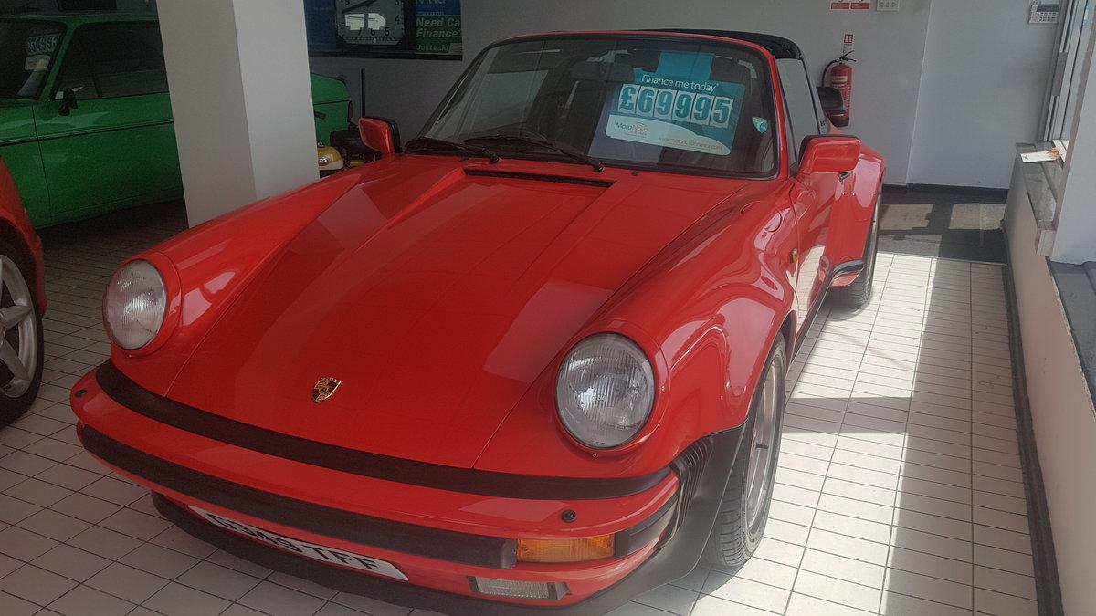 Porsche 3.2 Carrera Targa Super sport 1989 For Sale (picture 1 of 6)