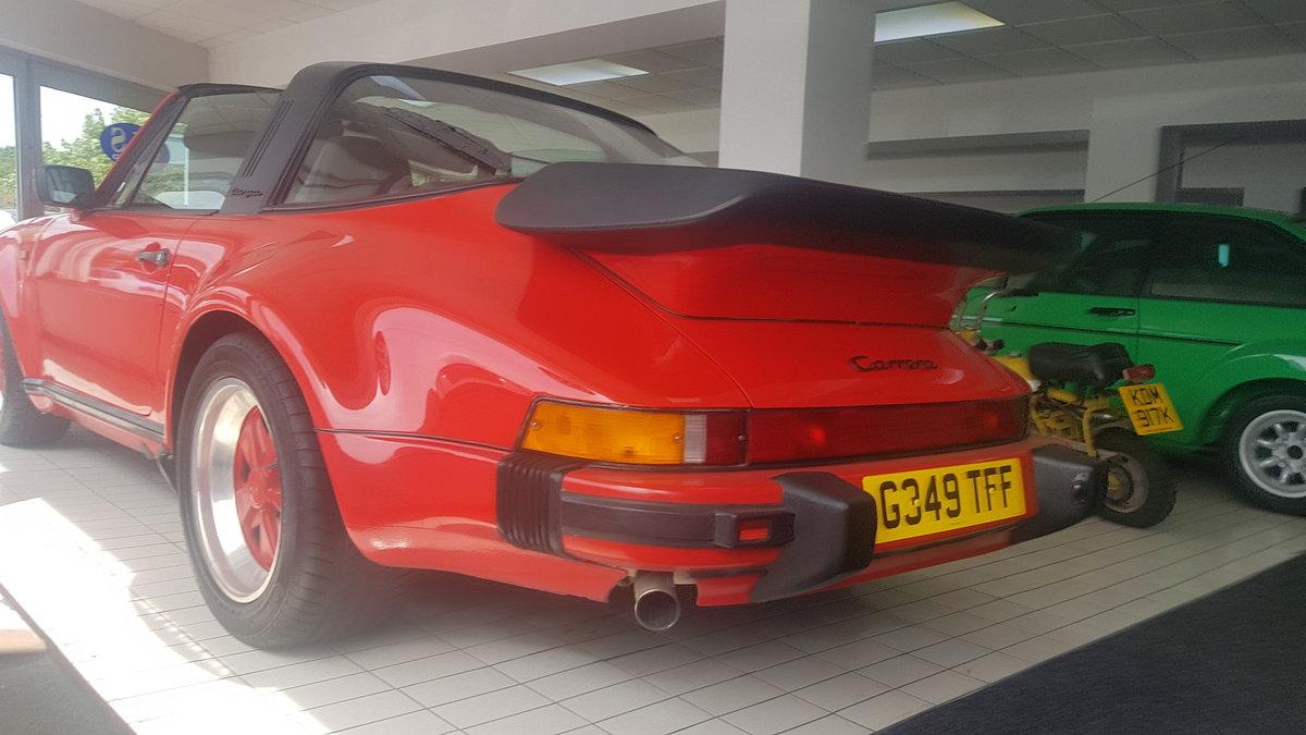 Porsche 3.2 Carrera Targa Super sport 1989 For Sale (picture 2 of 6)
