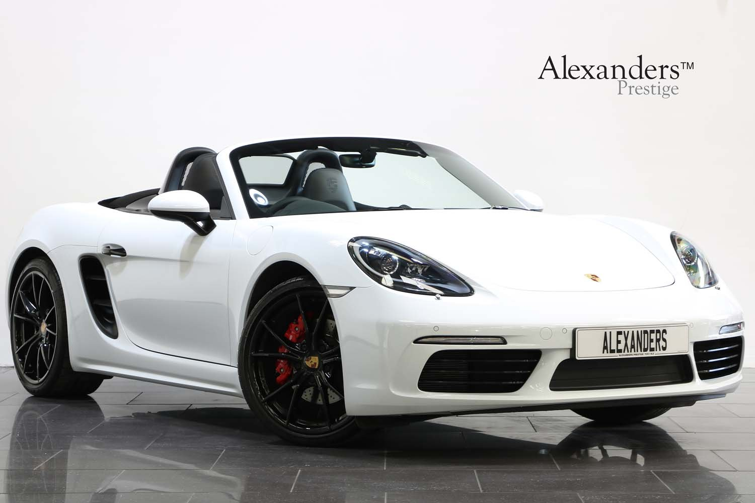 2018 PORSCHE 718 BOXSTER S 2.5 PDK  For Sale (picture 1 of 6)