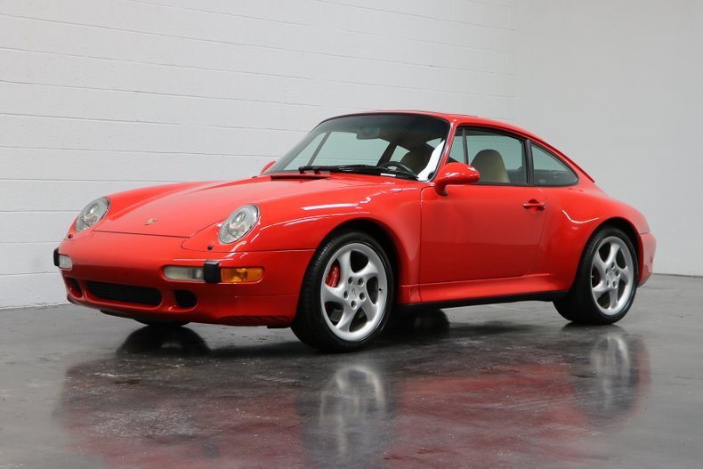 1998 Porsche 911 Carrera 4S = Red(~)Tan 33k miles $114.9k For Sale (picture 1 of 6)
