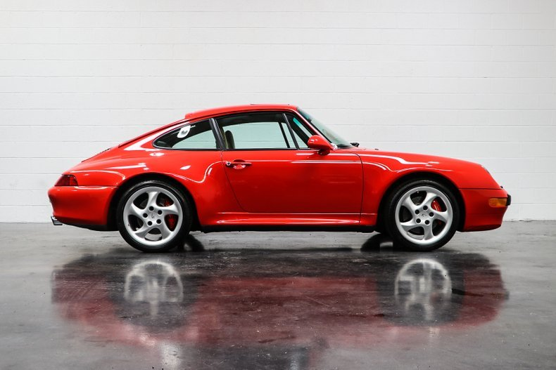1998 Porsche 911 Carrera 4S = Red(~)Tan 33k miles $114.9k For Sale (picture 2 of 6)