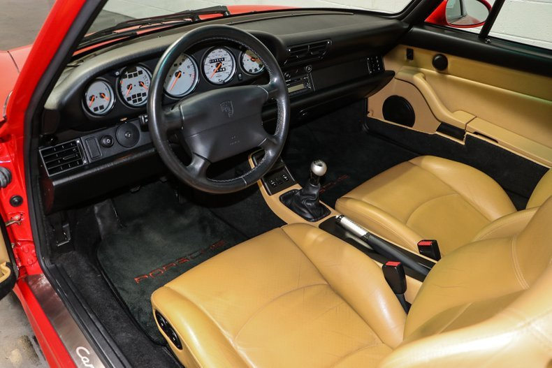 1998 Porsche 911 Carrera 4S = Red(~)Tan 33k miles $114.9k For Sale (picture 4 of 6)