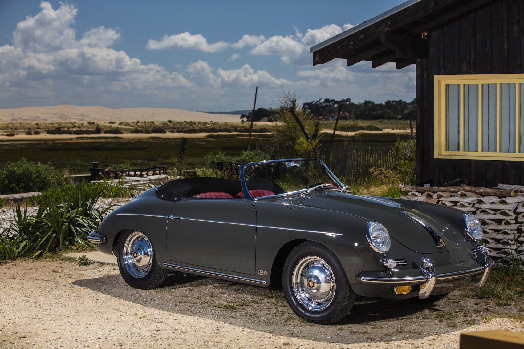 1962 Porsche 356 BT6 Roadster SOLD (picture 1 of 6)
