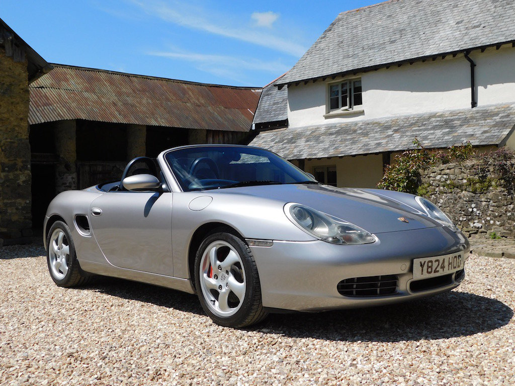 2001 Porsche Boxster 3.2 S - stunning, 56k miles, massive history SOLD (picture 1 of 6)