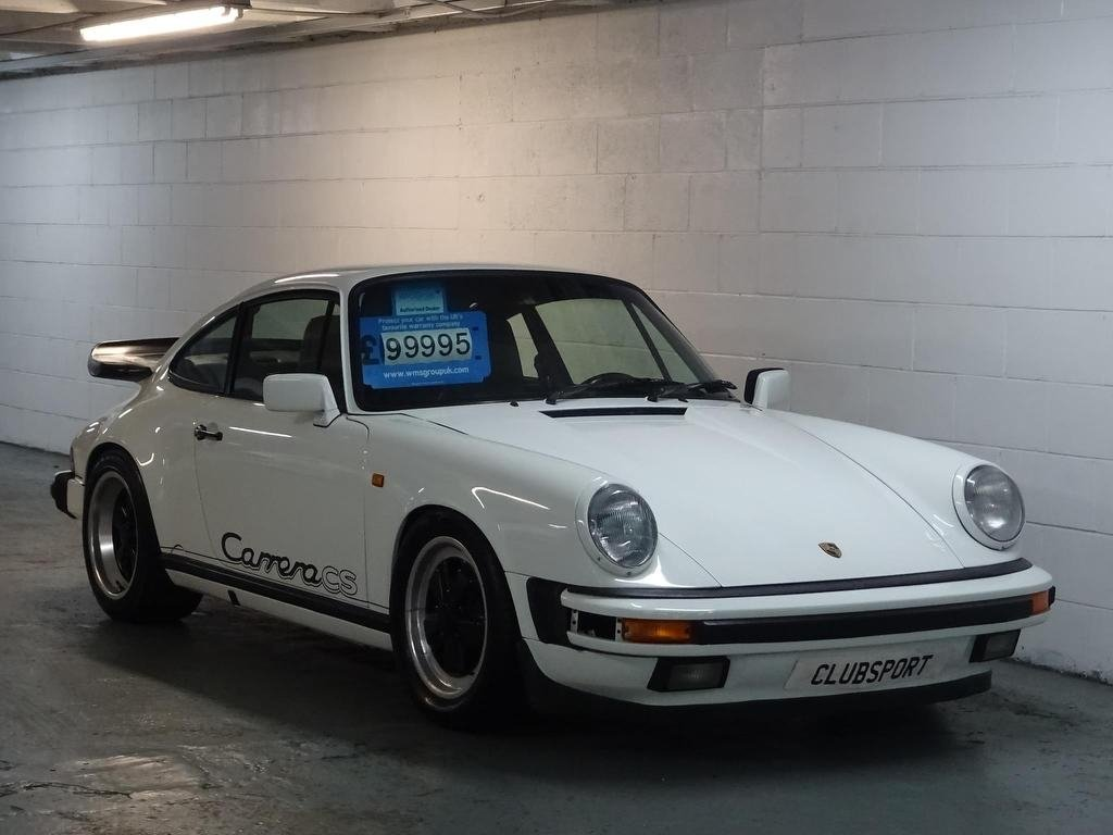 1989 911 3.2 Classic Carrera Club Sport 2dr For Sale (picture 1 of 6)