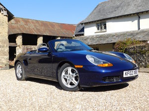 2002 Porsche 986 Boxster 2.7 - 35k miles, 1 owner from new For Sale