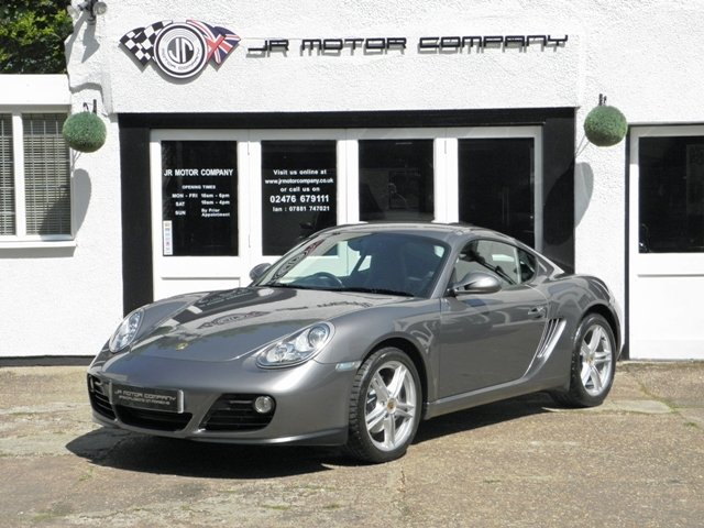 2011 Porsche Cayman 2.9 Gen 2 Manual finished in Meteor Grey  SOLD (picture 1 of 6)