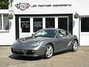 2011 Porsche Cayman 2.9 Gen 2 Manual finished in Meteor Grey