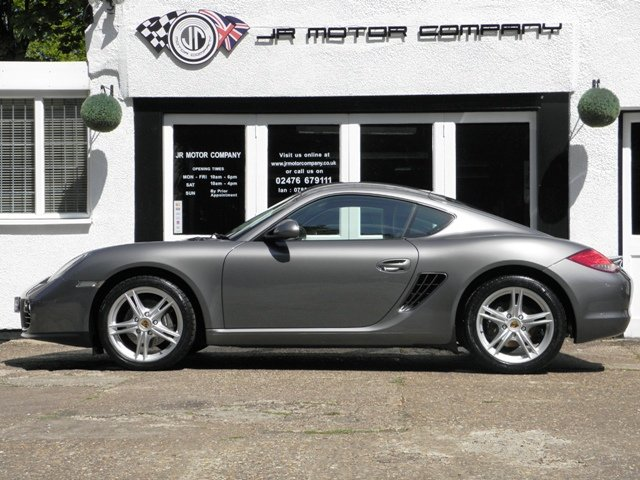 2011 Porsche Cayman 2.9 Gen 2 Manual finished in Meteor Grey  SOLD (picture 2 of 6)