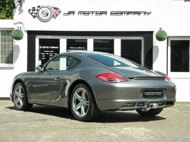 2011 Porsche Cayman 2.9 Gen 2 Manual finished in Meteor Grey  SOLD (picture 3 of 6)