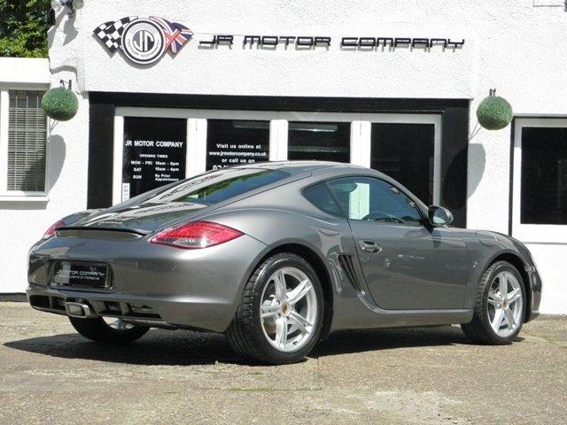 2011 Porsche Cayman 2.9 Gen 2 Manual finished in Meteor Grey  SOLD (picture 5 of 6)