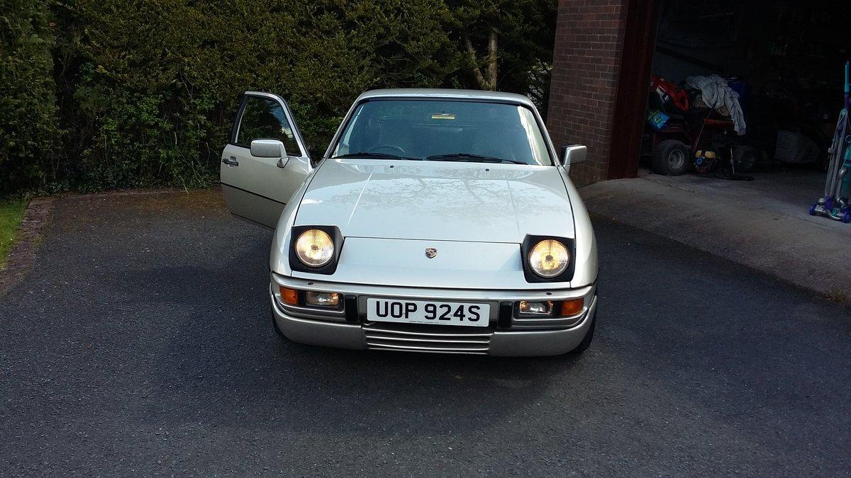 1988 Porsche 924S 2.5l Manual For Sale (picture 1 of 6)