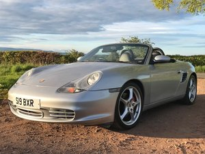 2004 Porsche Boxster S at Morris Leslie Auction 25th May For Sale by Auction