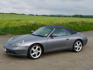 2001 Porsche 911 (996) Carrera 2 Cabriolet For Sale