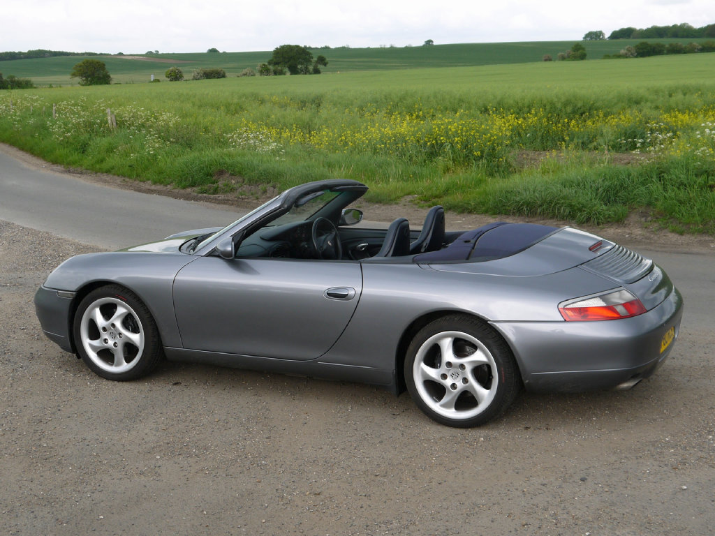 2001 Porsche 911 (996) Carrera 2 Cabriolet For Sale (picture 3 of 5)