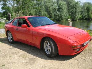 1986 Guards Red Porsche 944 Lux For Sale