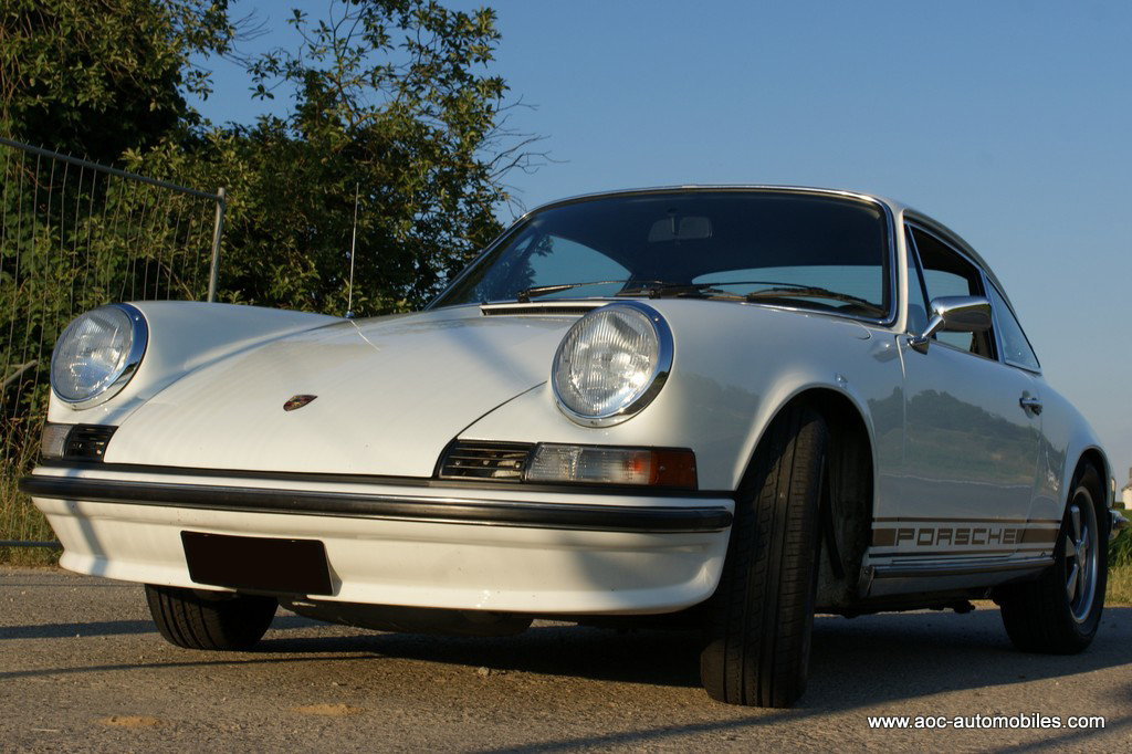 1973 Porsche 911 S 2,4 in stratospheric condition For Sale (picture 1 of 6)