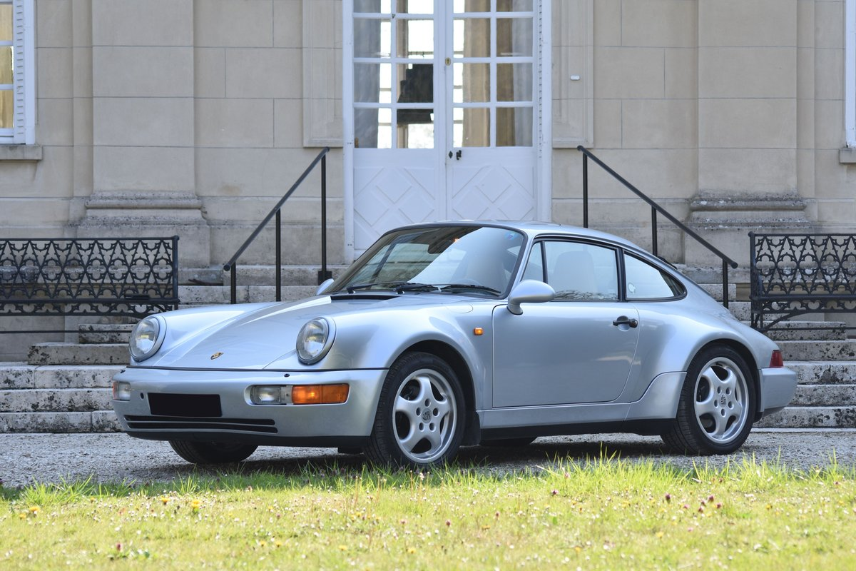1993  Porsche 964 Carrera 4 Turbo Look For Sale by Auction (picture 1 of 6)
