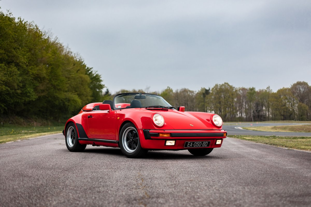 1989 Porsche 911 3.2L Speedster For Sale by Auction (picture 1 of 6)