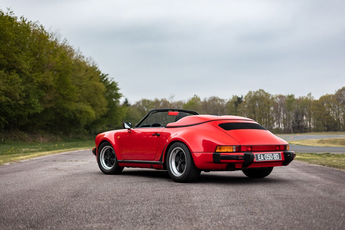 1989 Porsche 911 3.2L Speedster For Sale by Auction (picture 2 of 6)