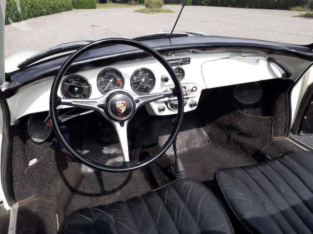 1963 Porsche 356 B T6 Cabriolet 1.6 S (body C) UNIQUE! For Sale (picture 4 of 6)