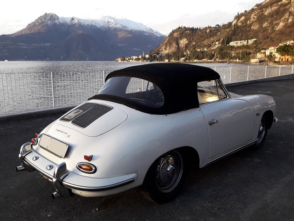 1963 Porsche 356 B T6 Cabriolet 1.6 S (body C) UNIQUE! For Sale (picture 3 of 6)