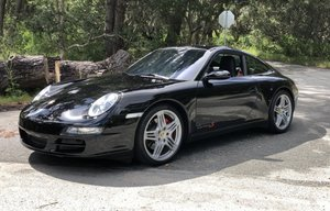 2008 Porsche 911 Carrera S Coupe = All Black Manual
