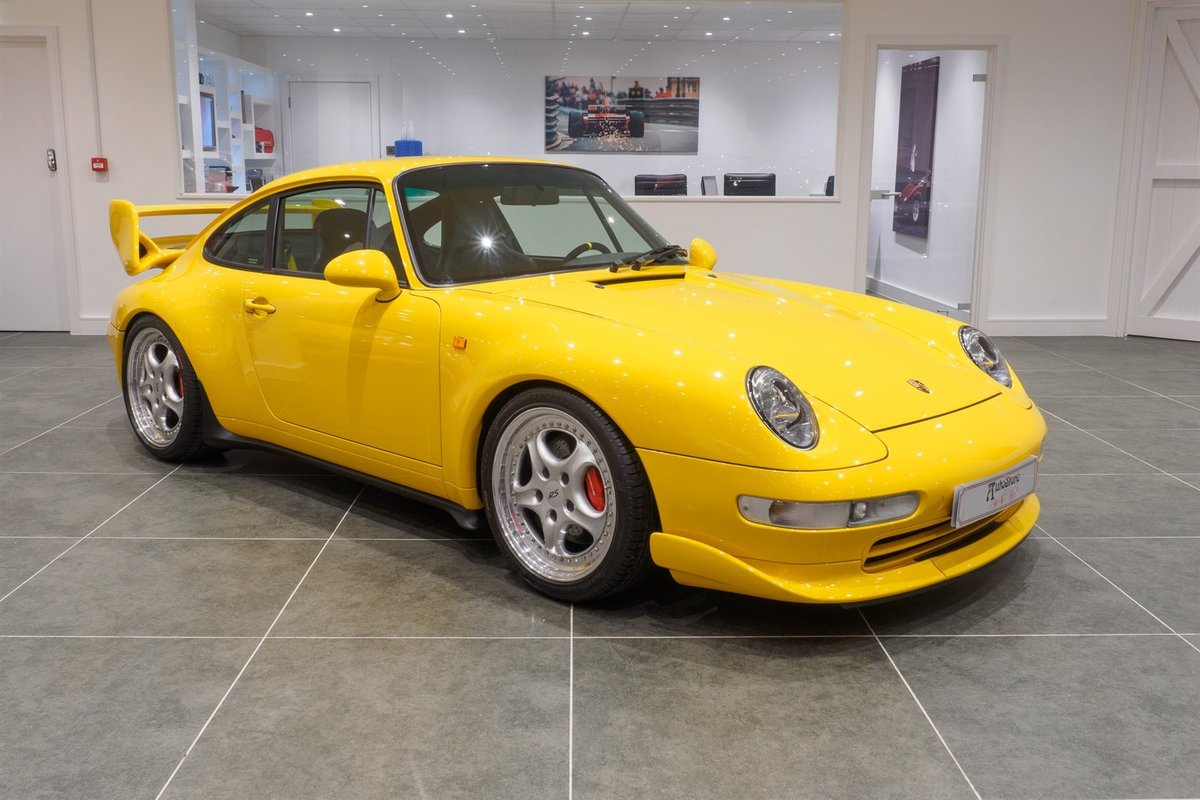 1996 Porsche 993 RS / Clubsport 'big' wing pack  For Sale (picture 1 of 6)