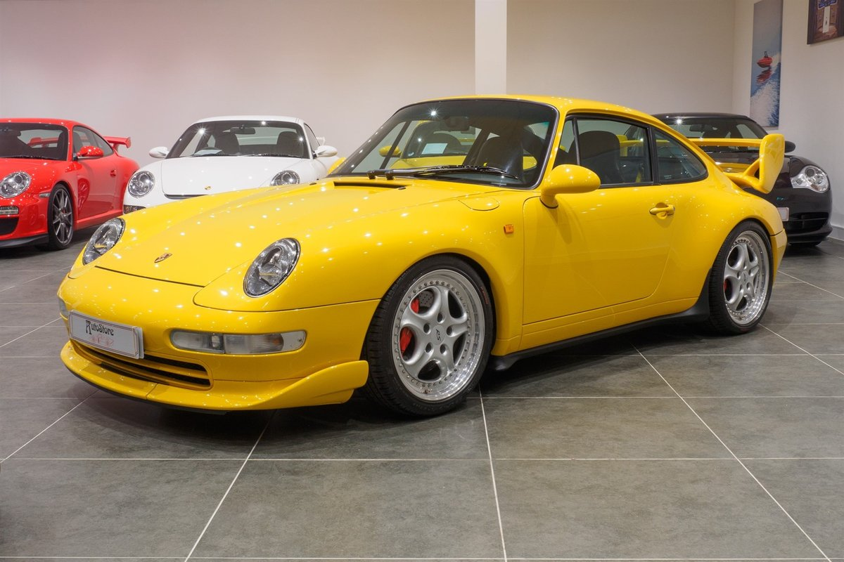 1996 Porsche 993 RS / Clubsport 'big' wing pack  For Sale (picture 3 of 6)