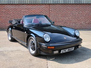 1983 Porsche 911 3.0 SC Cabriolet For Sale