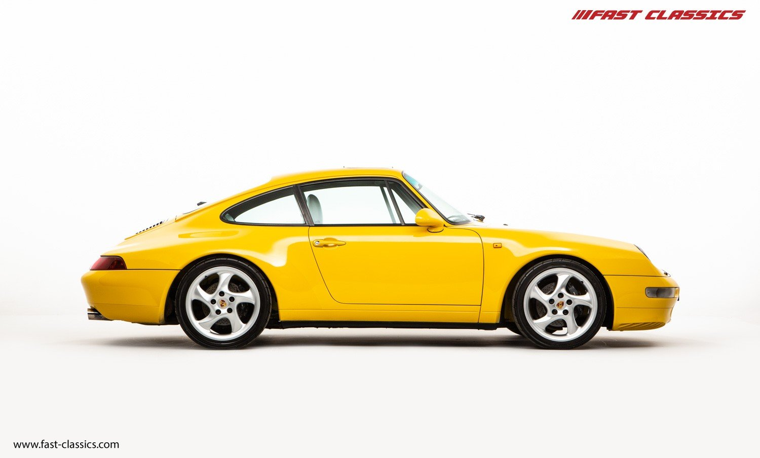 1995 PORSCHE 993 CARRERA 2 // LHD // SPEED YELLOW For Sale (picture 1 of 6)