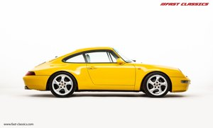 1995 PORSCHE 993 CARRERA 2 // LHD // SPEED YELLOW