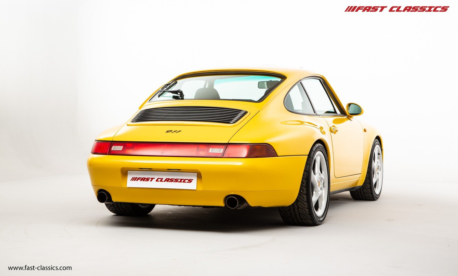1995 PORSCHE 993 CARRERA 2 // LHD // SPEED YELLOW For Sale (picture 3 of 6)