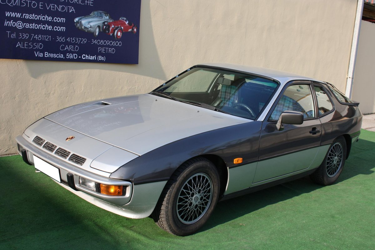 PORSCHE 924 TURBO OF 1979 For Sale (picture 1 of 6)