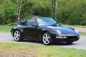 1997 Porsche 993 C2 Cabriolet For Sale by Auction