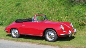 1960 Porsche 356 B Cabriolet 1600S For Sale